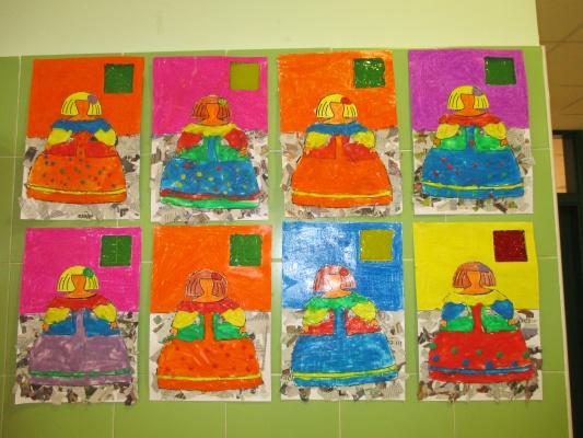 Las meninas de 3 de ed infantil ceip juan yag e for Actividades para jardin infantil